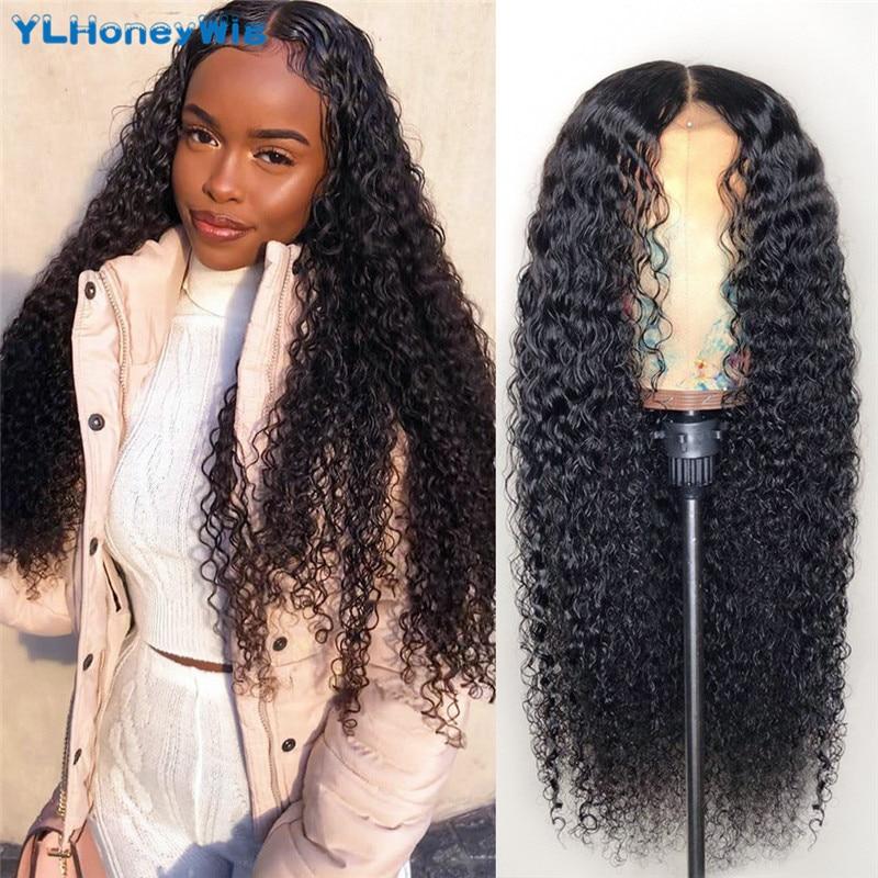 30 40 Polegada perucas frontais brasileiras do laço do frontal das perucas 13x4 do cabelo humano frontal encaracolado frontal perucas 150 densidade do laço para a mulher