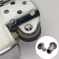 kerosene oil lighter rhombus flint wheel rivets replacement gear pin set fit for zp zorro grind wheel lighter repair parts