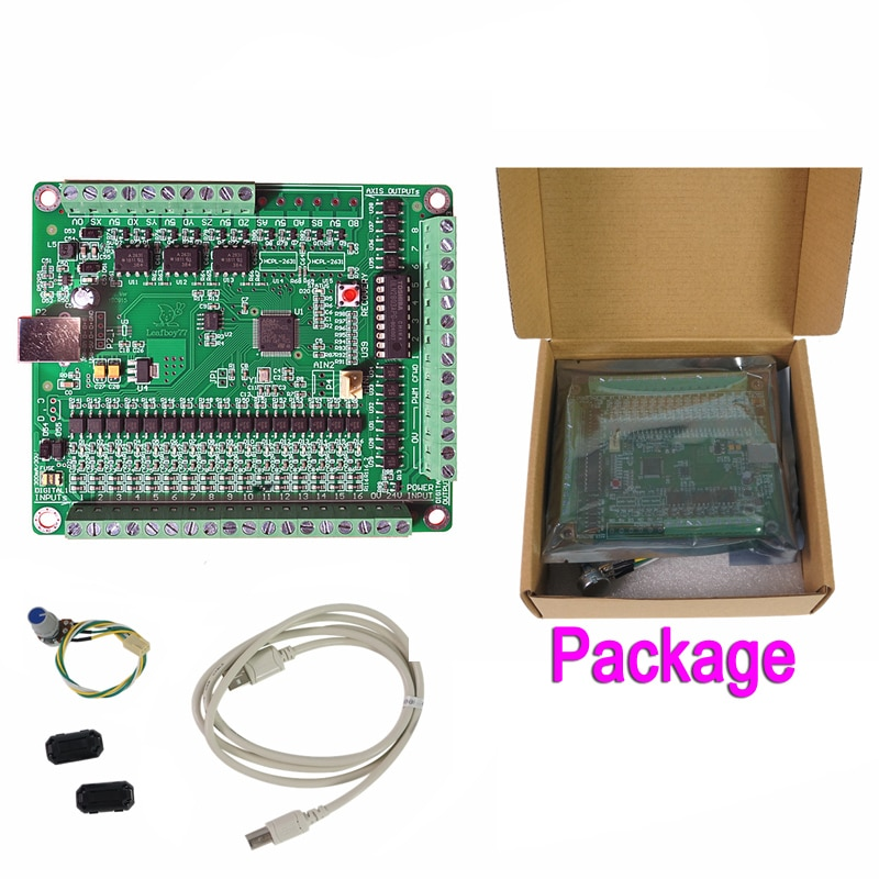 3 محاور Mach3 لوحة واجهة USB (NPN) تعمل USB لوحة الحركة باستخدام الحاسب الآلي NPN (AKZ250V3)