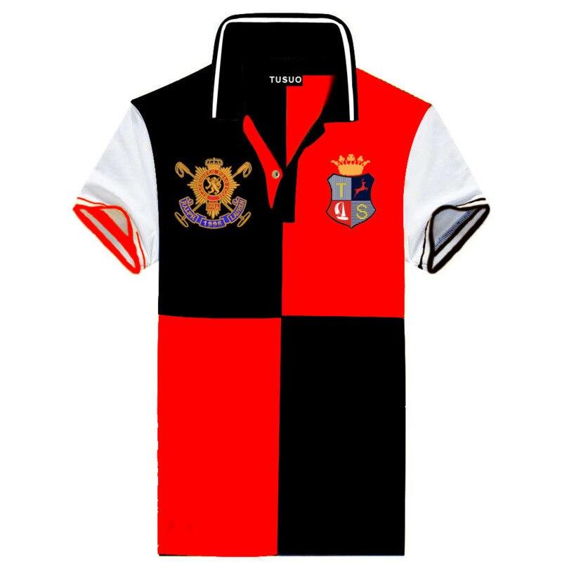 الرجال القطن قميص بولو رياضي عالية الجودة قصيرة الأكمام ماركة الموضة عادية 2021 summer-6XL