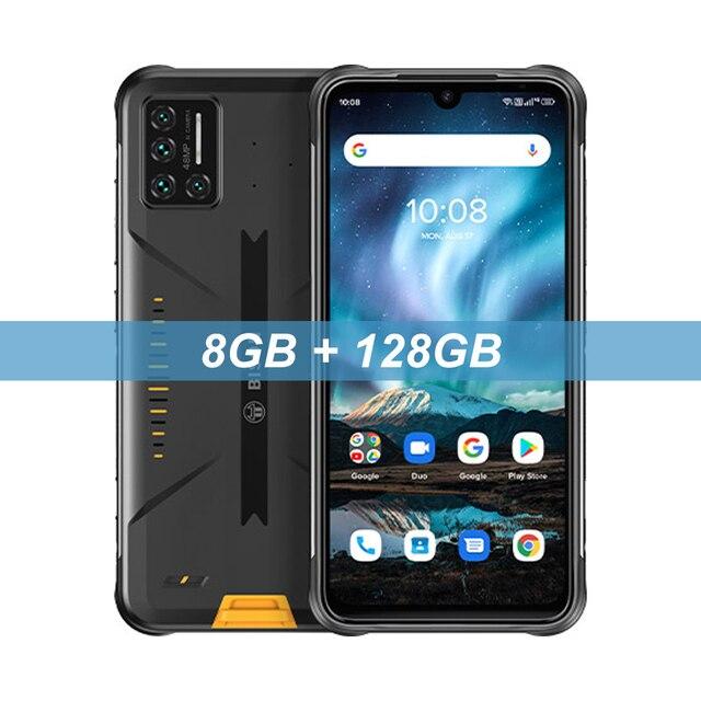 Смартфон UMIDIGI BISON IP68/IP69K защищенный, четыре камеры 48 МП, экран 6,3 дюйма FHD +, 6 ГБ + 128 Гб, NFC, Android 10   Мобильные телефоны и аксессуары   АлиЭкспресс