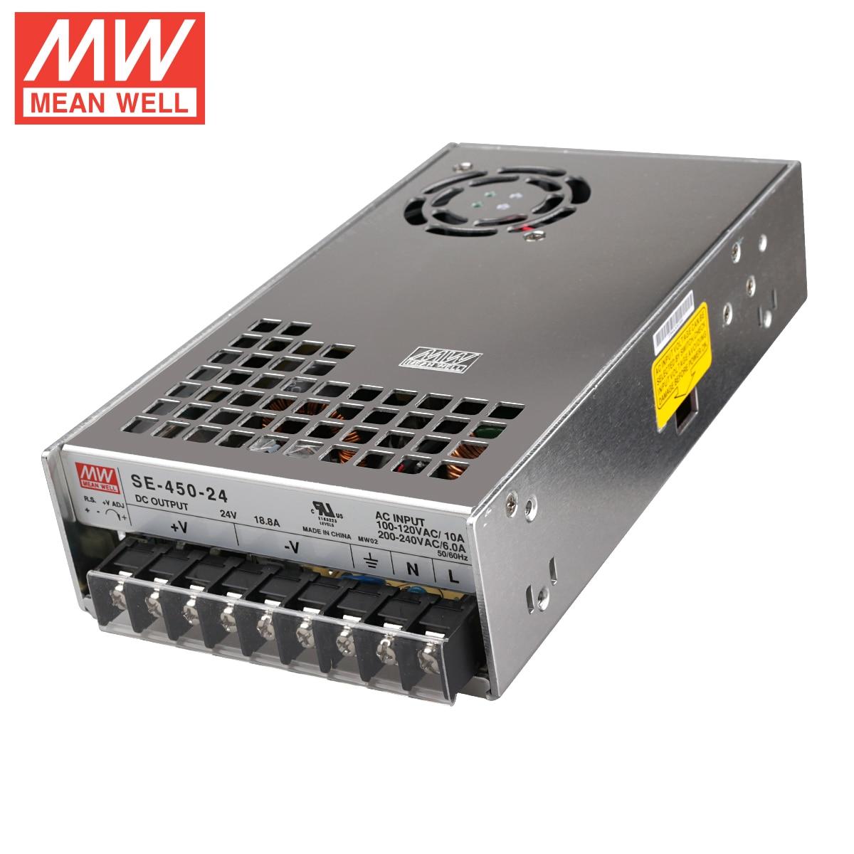 طابعة BLV ثلاثية الأبعاد PSU حقيقية SE-450-24 ميانويل 24V18.8A 450 واط