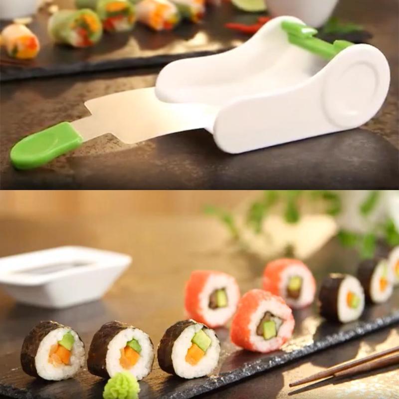 Kitchen Sushi Maker DIY Sushi Roller Bazooka Rice Meat Vegetables Roll Mold