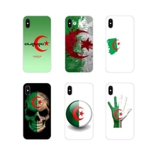 For Samsung Galaxy A3 A5 A7 A9 A8 Star A6 Plus 2018 2015 2016 2017 Accessories Phone Shell Covers Algeria National flag