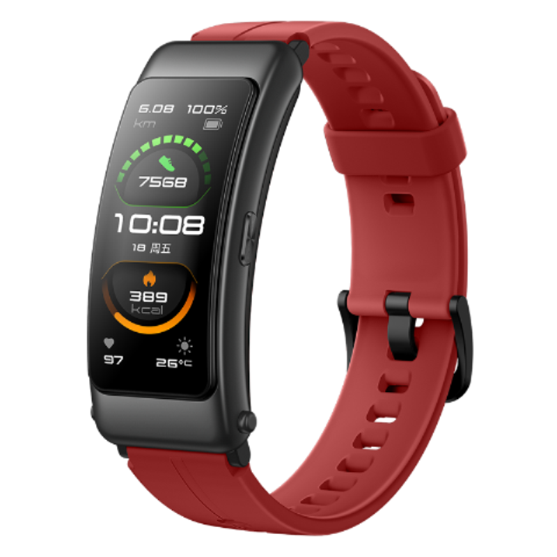 Original Huawei TalkBand B6 Talk Band B6 width Bluetooth Smart Bracelet Sports Wristbands Touch AMOLED Screen Call Earphone Band