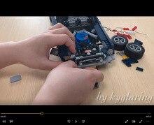 LED Light Kit Fit Lego 10265 Forded Mustanged Technic Car Building Blocks for Light Up Your Blocks Toys (only Light )