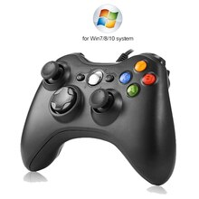 USB Wired Vibration Gamepad Joystick For PC Controller For Windows 7 / 8 / 10 Not for Xbox 360 Joypa