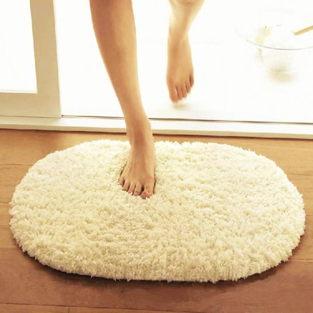 Alfombra redonda de 30x50cm para sala de estar alfombra de piel sintética alfombra de felpa larga para dormitorio alfombras de área peluda felpudo moderno