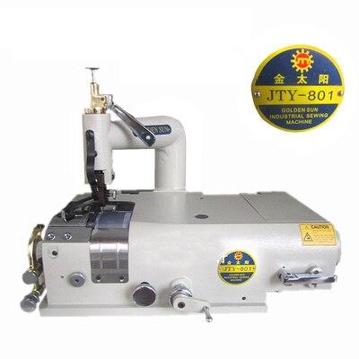 Máquina de costura de couro para sapatos de plástico, artigos para raspar bordas, máquina de costura de couro sintético, TK-801