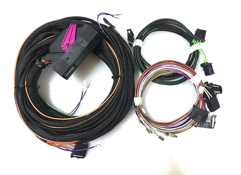 Sistema de sonido Dynaudio Cable de altavoz cables arnés Subwoofer para VW Golf 7 MK7 tizan MK2