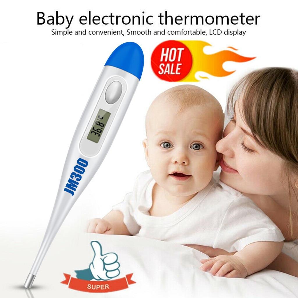 Горячая Распродажа, ЖК-дисплей Termometro Digitale, для детей, взрослых, для тела, для уха, температура рта, дети, термометр, цитифровый # PY