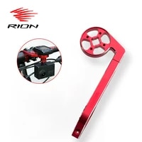 rion cycling bike computer mount gps holder compatible for gopro camera cateye mtb bike handlebar support cycling accessories