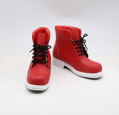 New My Hero Academia Izuku Midoriya Cosplay Shoes My Hero Academia Cosplay Boots Lace-up Pu Leather Shoes Euro Size Women Men
