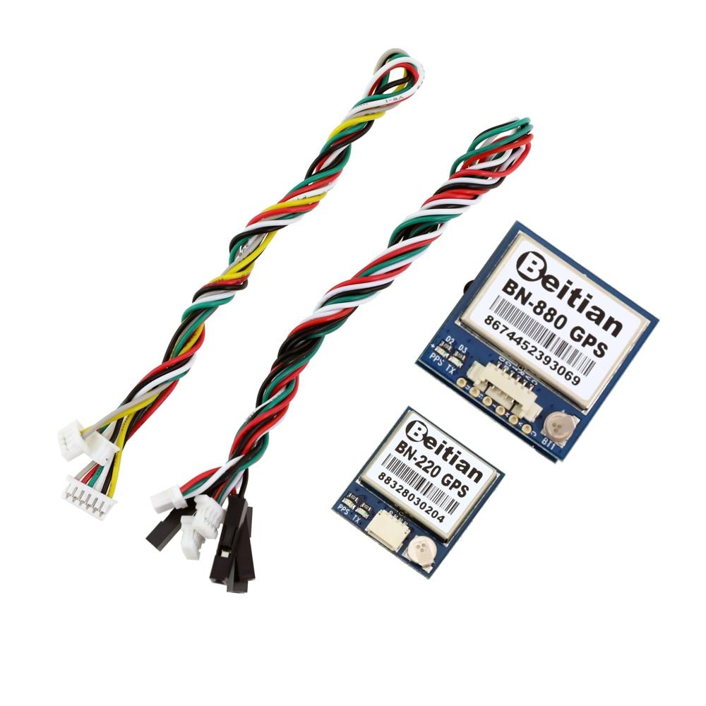 Beitian bn220 bn280 BN-880 3.0 v-5.0 v nível ttl gnss módulo gps glonass dupla gps módulo antena construída no flash BN-220 bn880