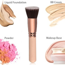 Foundation Makeup Brush for Face - Perfect For Blending Liquid Cream or Flawless Powder Cosmetics Pr