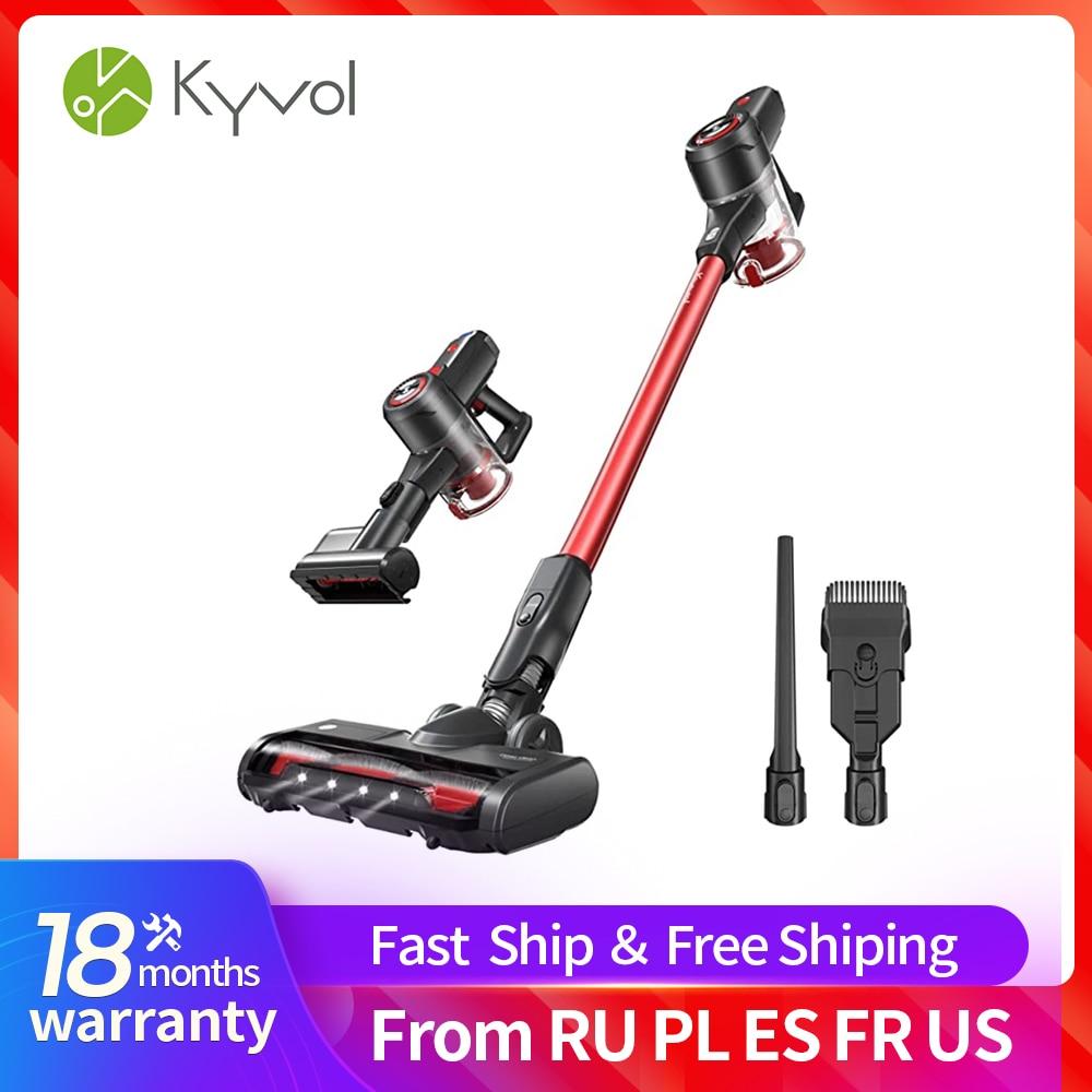 KYVOL V20 يد مكنسة كهربائية 20KPa قوة شفط قوية ثلاث سرعات وضع اليد عصا لاسلكية المنزل الذكي كفاءة 1L كوب