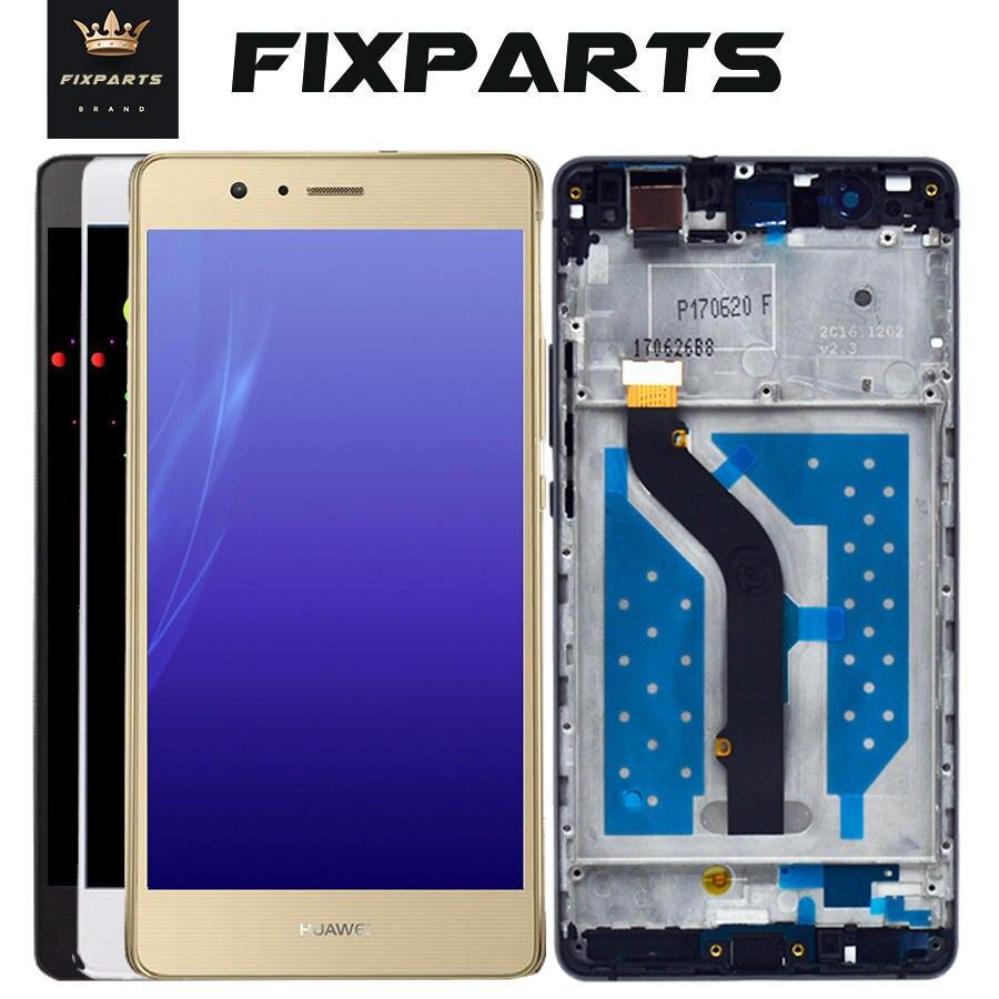 Para Huawei P9 Lite, Digitalizador de pantalla táctil de pantalla LCD para Huawei P9 Lite, LCD con marco G9 P9Lite, VNS L21 L22 L23 L31 L53