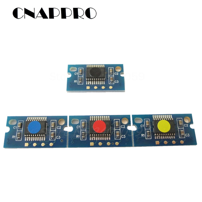 4x IU211 IU212 IU313 Imaging Unit Chip for Konica Minolta Bizhub C200 C210 C203 C253 C353 Drum Cartridge Reset