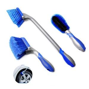 Image 1 - Инструменты для мойки автомобиля, щетка для чистки шин, щетка для ступицы обода колеса, инструмент для детейлинга автомобиля, щетка для чистки ковра