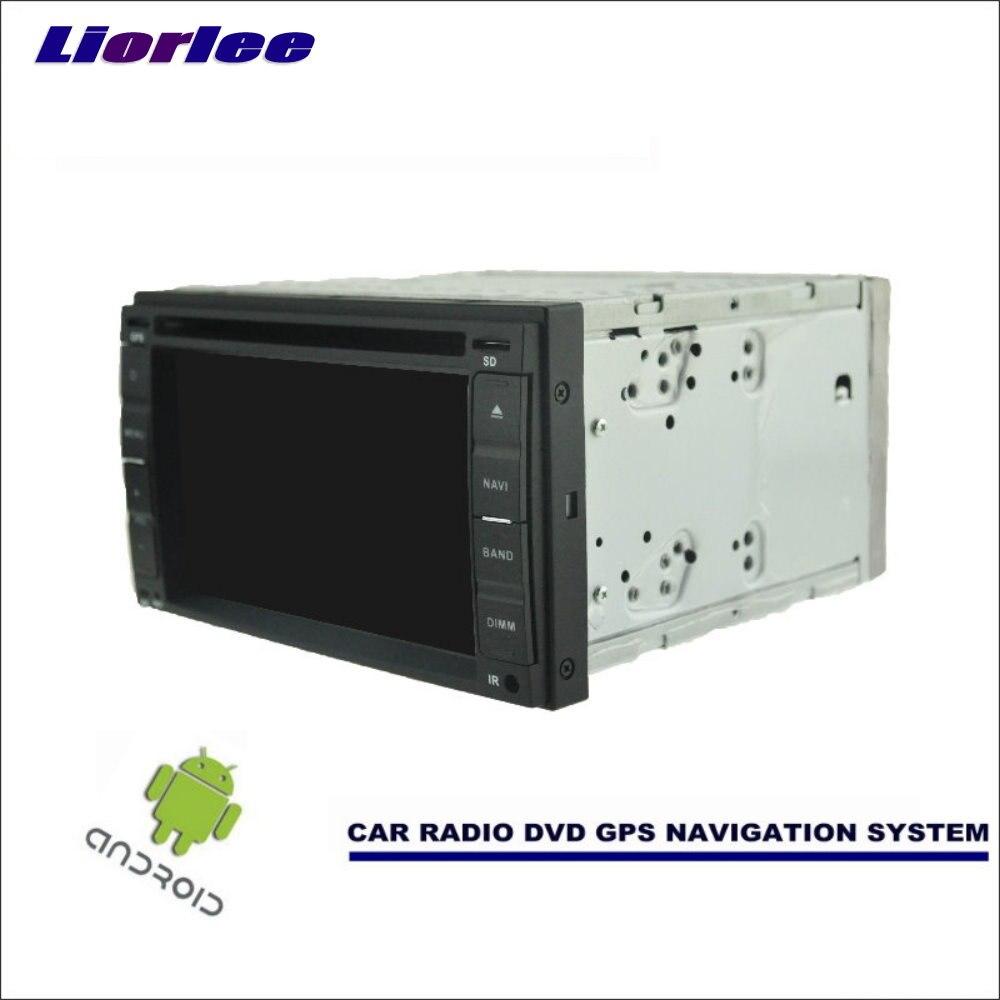 Liorlee автомобильный Android навигатор для Nissan Evalia/NV200/Tiida C11 Радио стерео CD DVD плеер GPS Navi BT HD экран мультимедиа