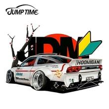 Jumptime 13 Cm X 9.3 Cm Voor Jdm Japan Racing Auto Vinyl Sticker Auto Bumper Decal Waterdicht Accessoires Grappige Auto stickers