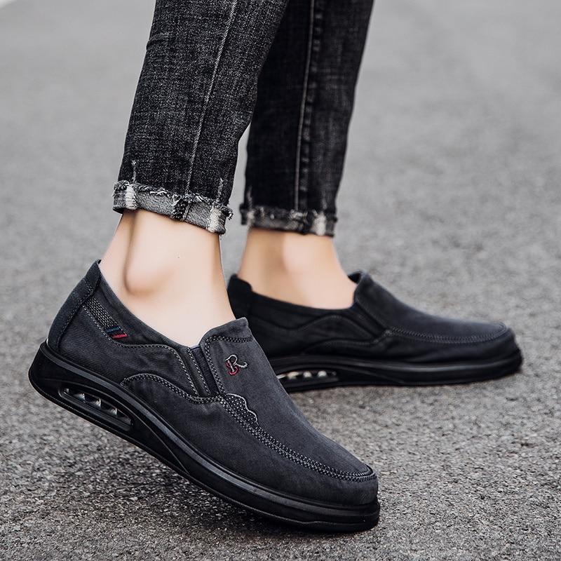 Zapatos deportivos de verano para hombre, zapatillas de Deporte de lujo, mocasines...
