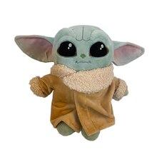 22Cm Star Wars Baby Yoda Mandalorian Pluche Toys Pp Katoen Stuffed Animals Children's Birthday Gifts