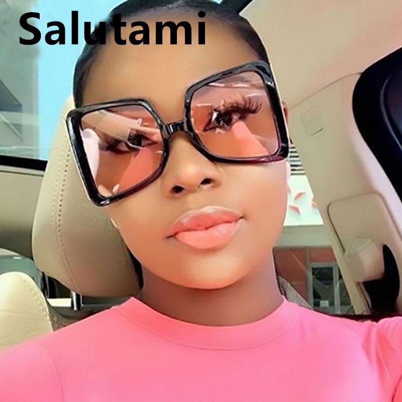 2020 nova moda arco forma abelha ouro óculos de sol feminino gradiente preto rosa tons