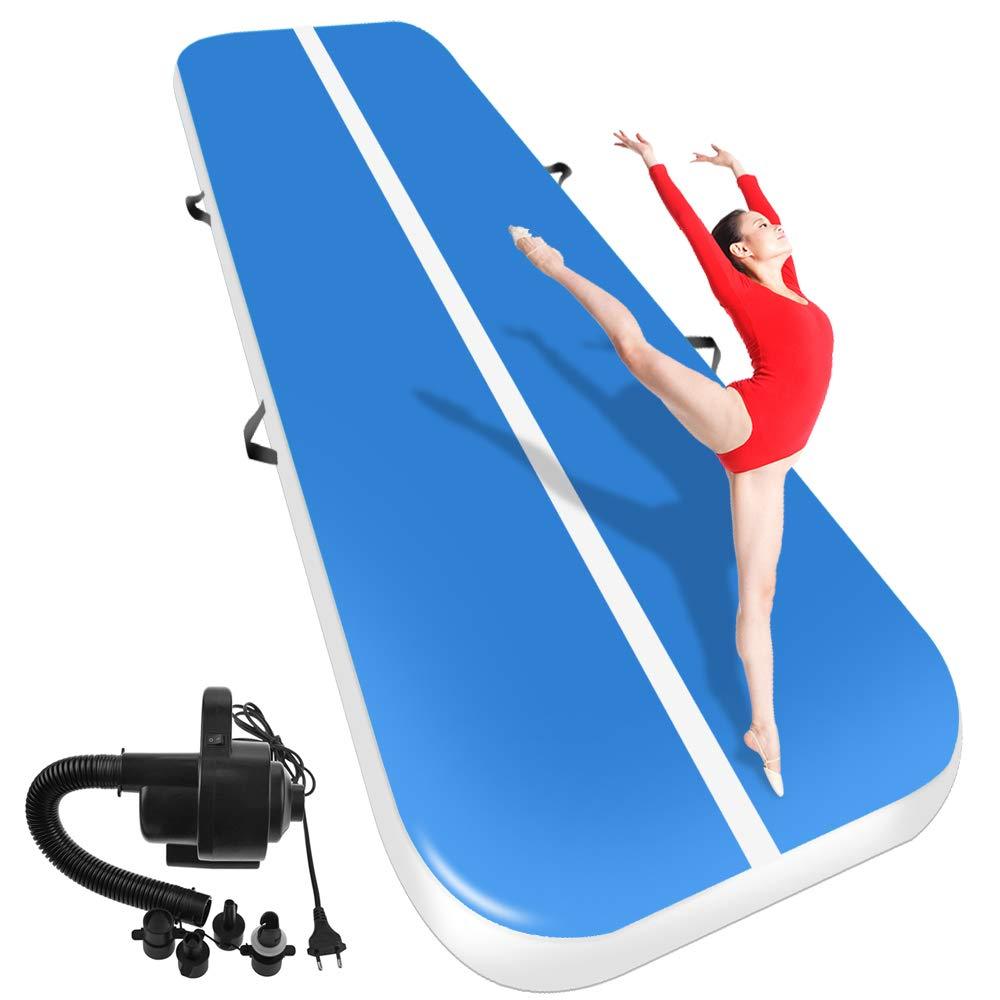 (7m8m10m) * 2 m * 0.2 m inflável airtrack de ginástica caindo pista de ar trampolim para uso doméstico/treinamento/cheerleading/praia