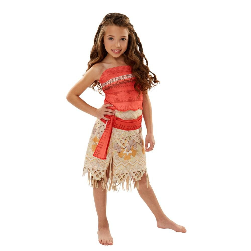 halloween children s costume cosplay girl horror vampire death ghost clothes little witch long sleeve costume girls prom dress Moana Costume 4PCS 1set  Moana Princess Dress Cosplay Costume Children Halloween Costume for Girls Party Dress