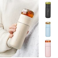 stainless steel filter thermos glass tea bottle tea separation 300ml f2