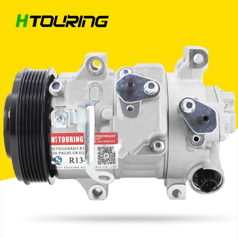 Para coche TOYOTA AVENSIS 2011-2015 AC compresor de aire acondicionado 6SEU14C 88310-1A660 88310-05140 88310-02510 6PK