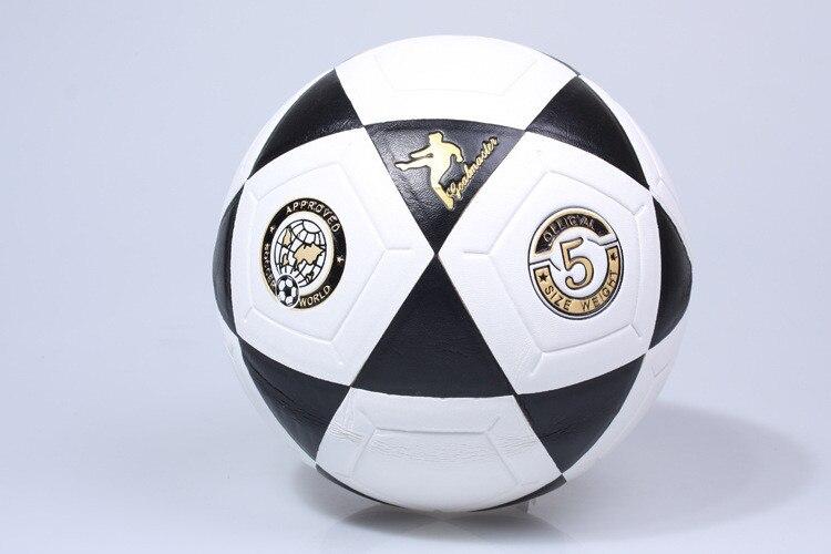 Тренировочный мяч, размер l треугольник с принтом, синий футбольный треугольник, 5 наклеек, для обучения школе, молодежной, с треугольным при...