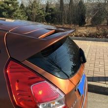 Fiesta MK8 Unpainted Rear Roof Lip Spoiler Wing for Ford Fiesta MK8 Hatcback 2013-2016 ST Style