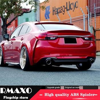 For Mazda 6 ATENZA Body kit spoiler CST 2017-2018 For ATENZA ABS Rear lip rear spoiler front Bumper Diffuser Bumpers Protector