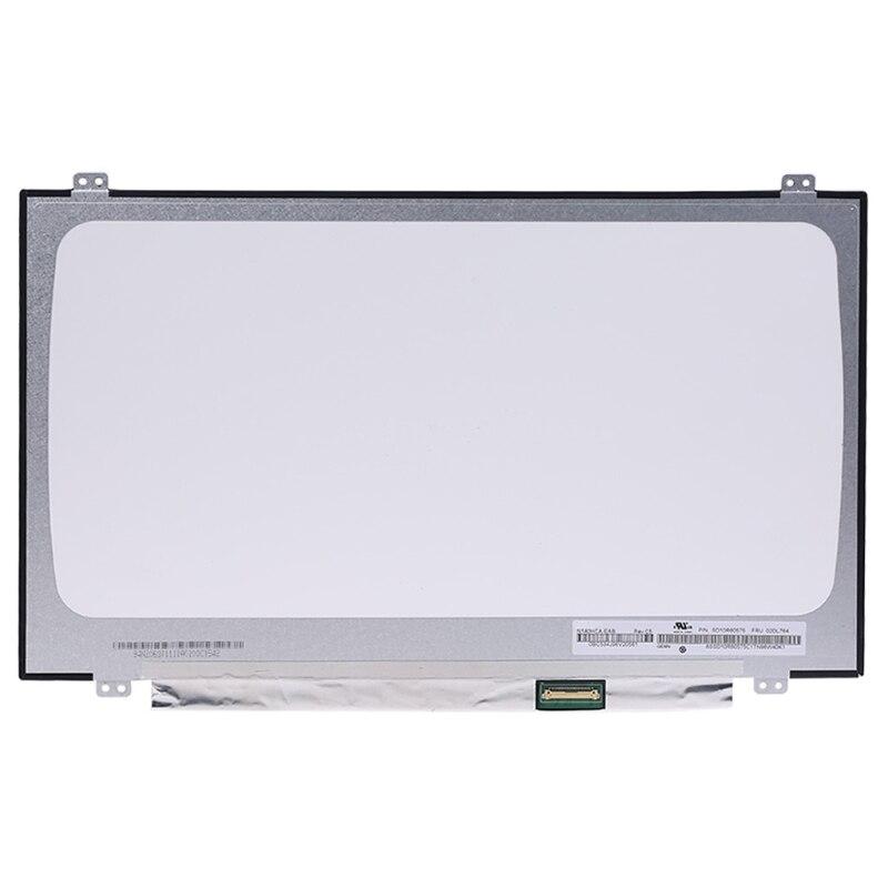2021 EAB N140HCA N140HCA-EAC B140HAN04.0 NV140FHM-N62 N61 14 polegada LCD Tela LED 30pin