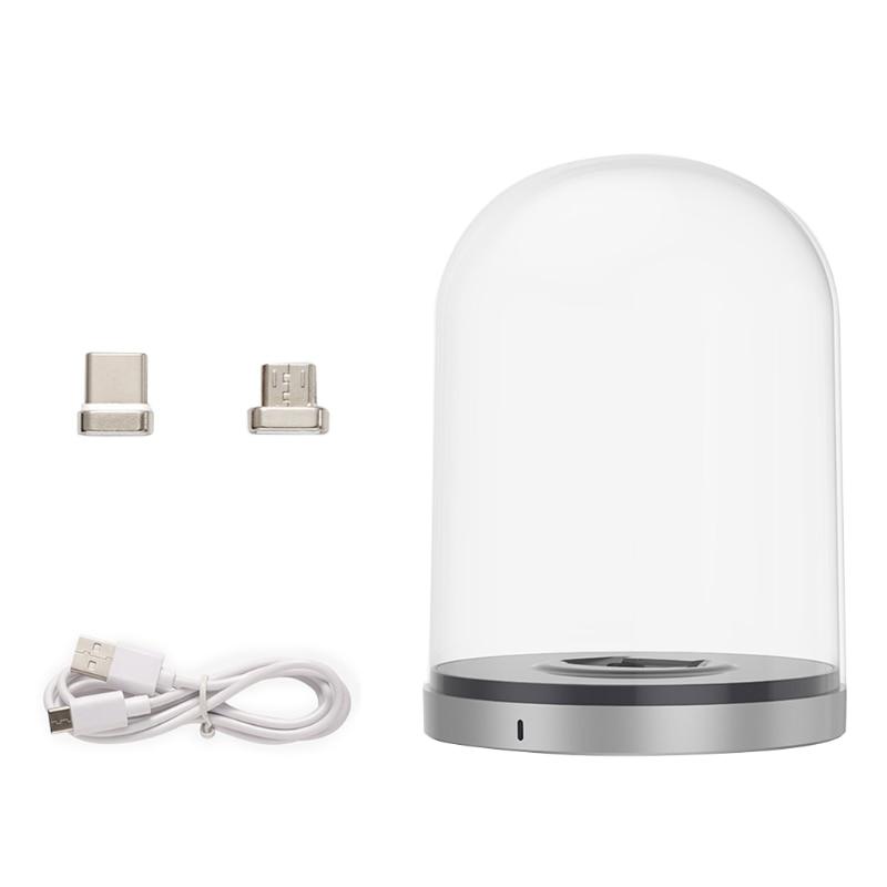 For Mini / Mini 2 Bell Jar Magnetic Micro with USB-C Drone For Mini / Mini 2 Charging Base Designed Accessories