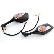اليسار الأيمن الرؤية الخلفية مرآة الرؤية الخلفية الجانبية بدوره إشارة لهوندا CBR1000RR CBR 1000RR 2008-2012 دراجة نارية
