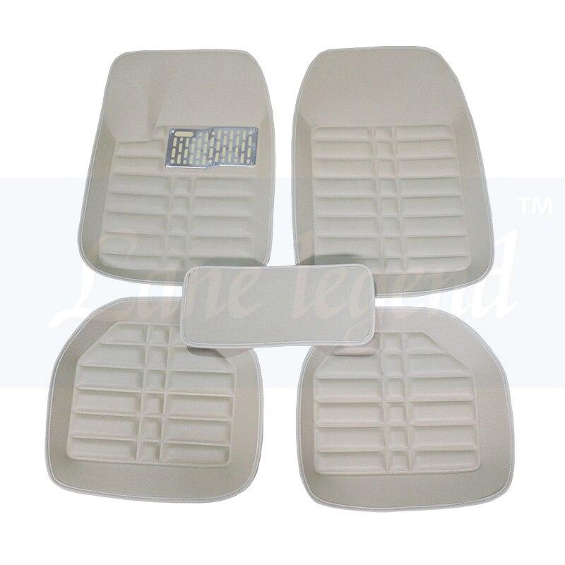 Coche tapetes para Infiniti FX35 FX37 FX45 FX50 QX70 G25 G35 G37 Q50 EX25 EX35 QX50 ESQ 3D estilo de coche alfombras camisas