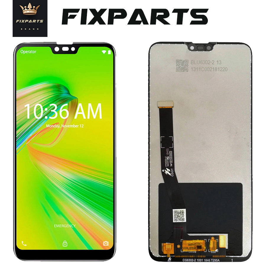شاشة لمس LCD مقاس 6.26 بوصة لجهاز ASUS Zenfone Max Shot / Max Plus (M2) ZB634KL ، أصلي