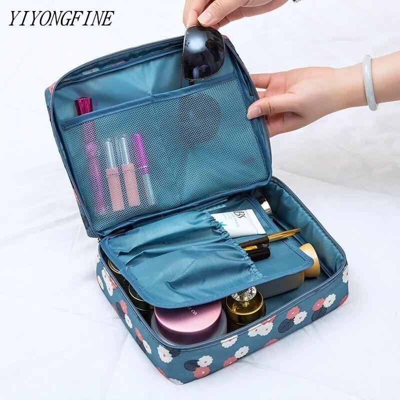Bolso para cosméticos de alta calidad para mujer, bolso organizador de maquillaje,...