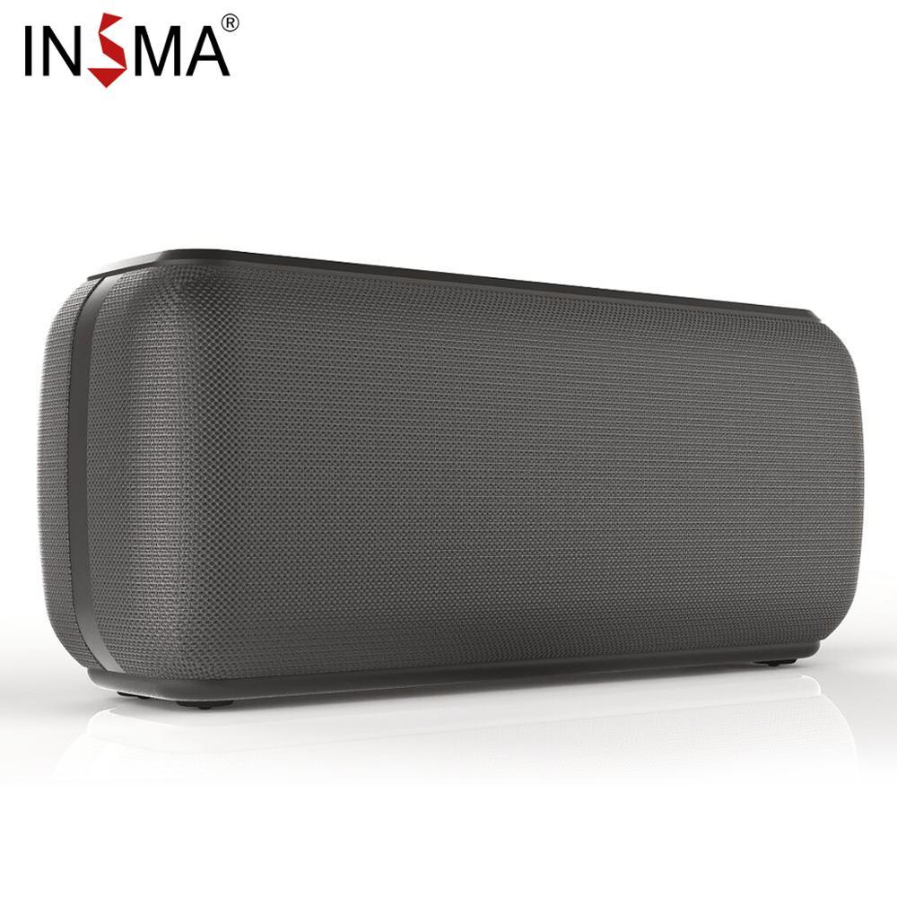 tws soundcore 2 portable bluetooth wireless speaker better bass 10 hour playtime ipx5 water resistance outdoor speaker INSMA S600 60W Wireless Bluetooth 5.0 Speaker IPX5 Waterproof TWS 24H Playing Time Voice Assistant Extra Bass Subwoofer Speaker