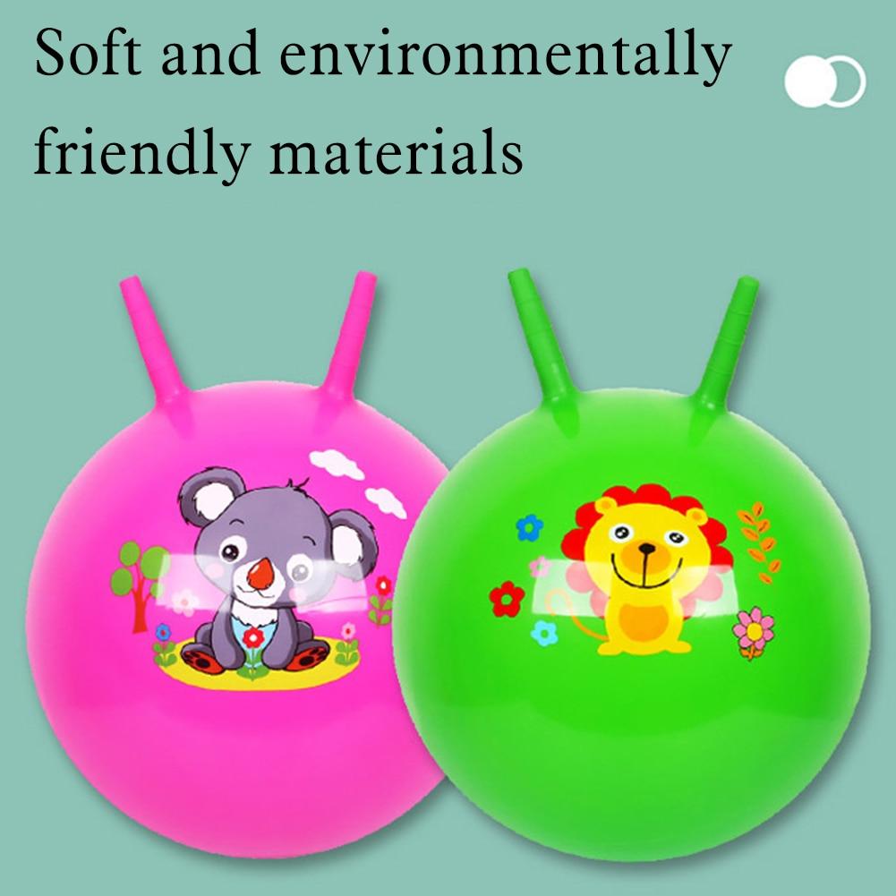 Детский садовый шар для прыжков, рандомные цвета, Детские мячи для прыжков в космосе, мячи для прыжков, развивающие уличные спортивные игруш...