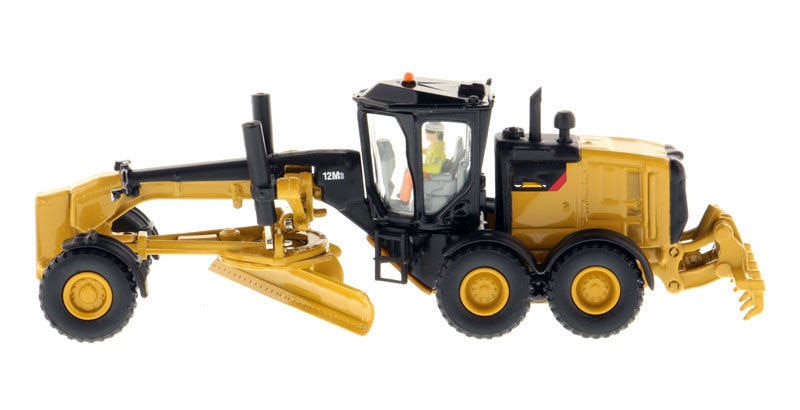 Diecast Model Car DM 1:87 Scale 12M3 Motor Grader-High Line Series 85520 Truck Model Kids Toys Collection Gift kid model toys 1 50 scale engineering vehicle truck car model 140m3 motor grader high line series 85544 diecast model toys