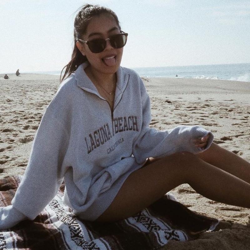 Oversized Hoodies Women Sweatshirts 2020 Winter Casual Loose Gothic Harajuku Undefined Fashion Streetwear Fleece Tops Femme Bts