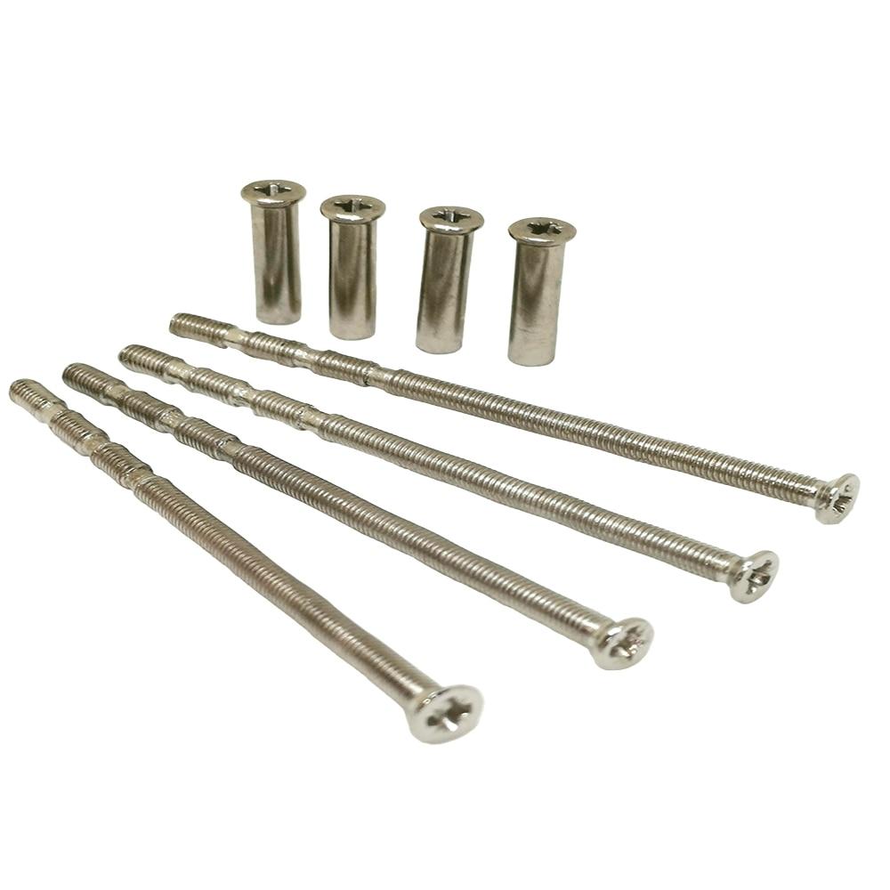 Kit de fijación Universal M3 de 4 piezas para perno de palanca a través del paquete de fijación