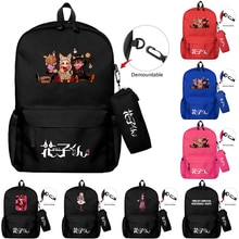 Simple Backpack Girl Shoulder Travel Bag CuteFor Teenage Waterproof Multi-pocket Bags Daily Student