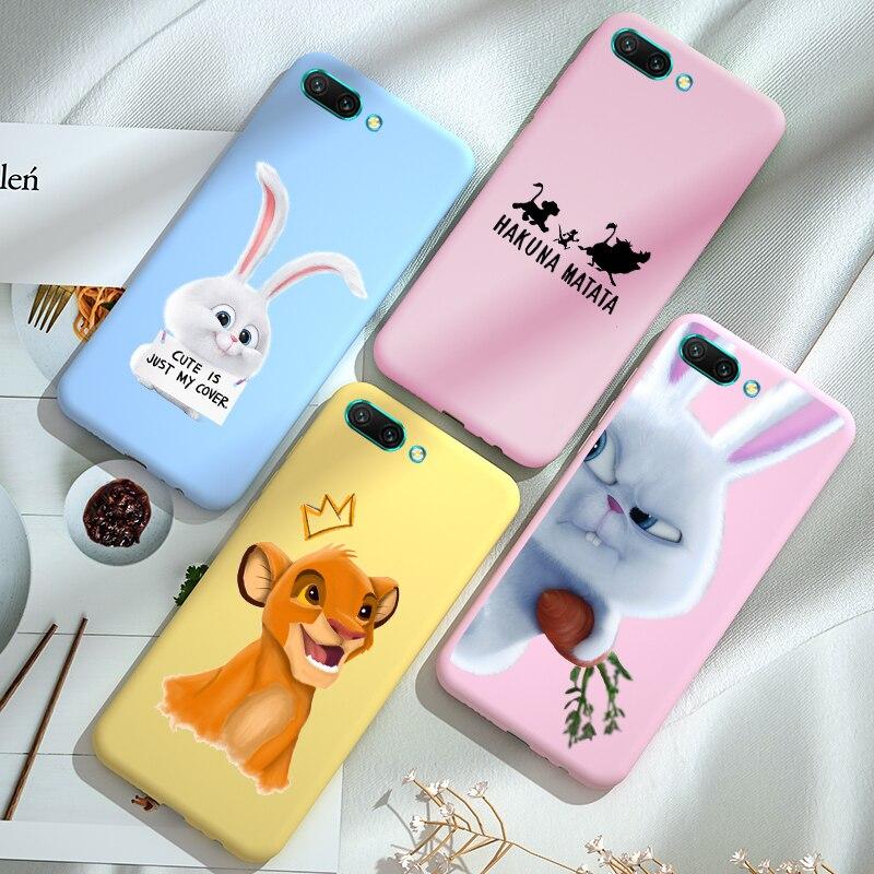 Чехол для телефона с героями мультфильмов Honor 8A 8C 8S 8X 9X Premium 7C 7A PRO, задняя крышка для Huawei Honor 10 Lite 10i 20 PRO 20S View 20 Capa
