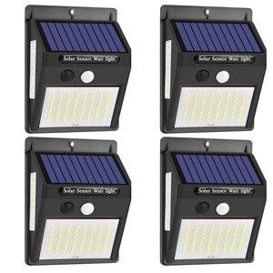 Led Solar Light Outdoor Solar Lamp Wall Lamp Security Solar Lamp For Garden Decoration Outdoor Emergency Wall Light Sunlight Str