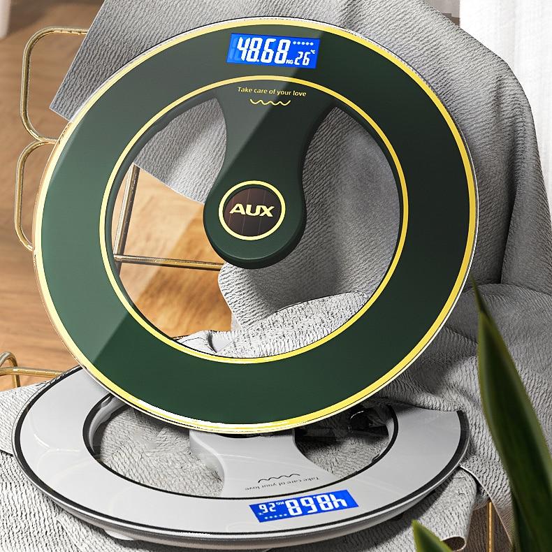 Precision Floor Scale Usb Charging Bathroom Led Body Balance Fat Scale Digital Electronic Pesa Digital Household Items DE50TZC